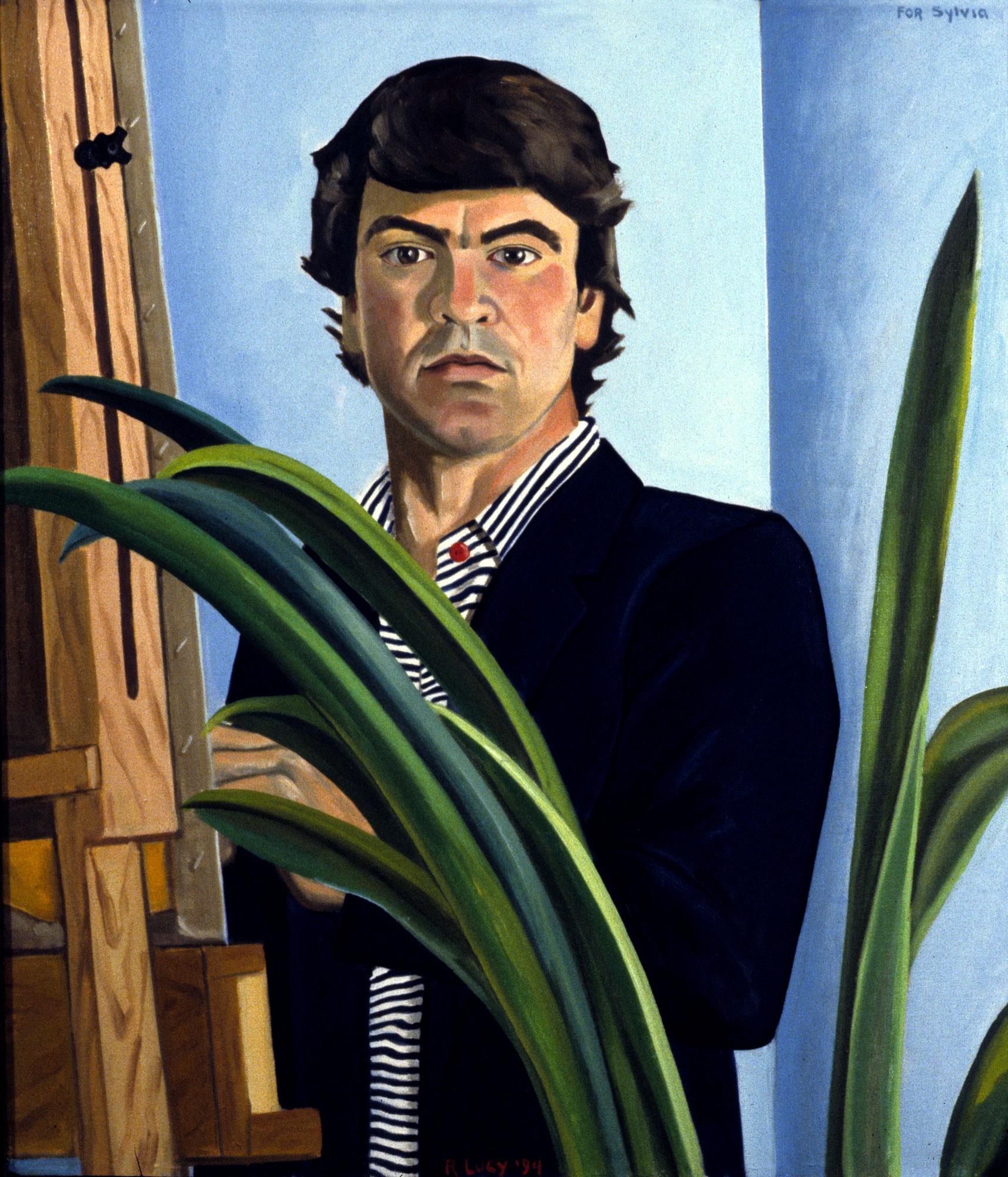 Self-Portrait In Blazer
